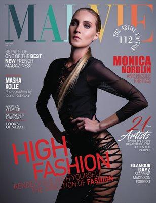 MALVIE Magazine The Artist Edition Vol 112 January 2021