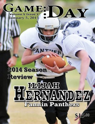 Volume 5 Issue 1- # 4 Ilijah Hernandez
