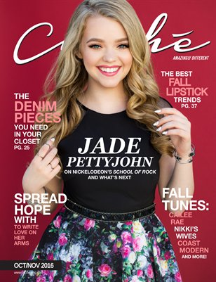Cliché Magazine - Oct/Nov 2016 (Jade Pettyjohn Cover)