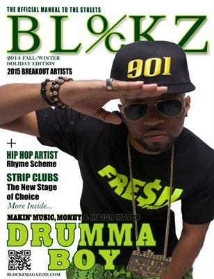 2014 Fall/Winter Edition Cover Story Drumma Boy