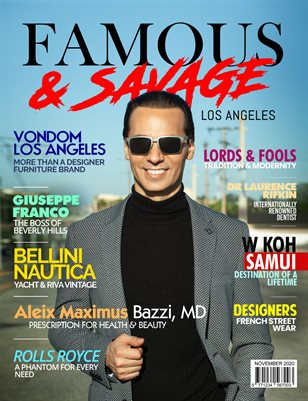 Famous & Savage | Issue 3 - November 2020