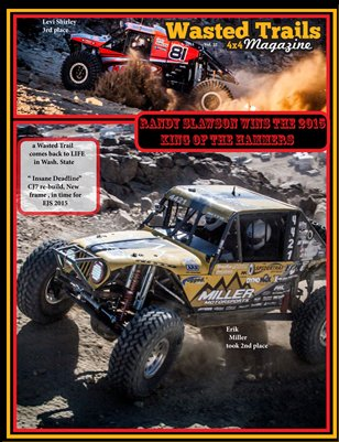 Wasted Trails 4x4 magazine March 2015 vol. 22