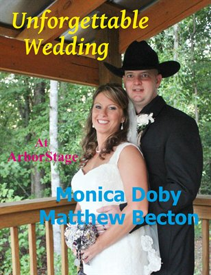 Doby & Becton Wedding Magazine