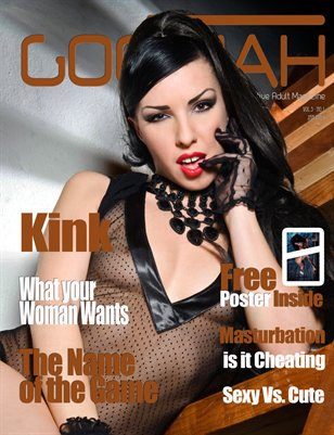 Goomah Magazine - Jan 2014 - Cover 2