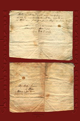 1860's Letter to Hattie Brown, Daughter of John. Part of the Cochran Letters Collection, Graves County, Kentucky