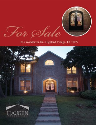 Haugen Properties -  816 Woodhaven Dr., Highland Village, TX 75077