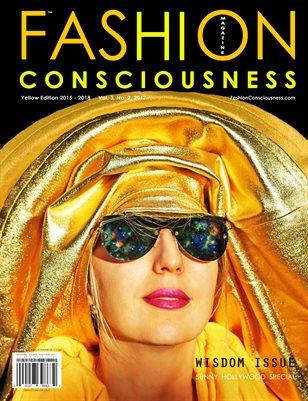 FASHION CONSCIOUSNESS Magazine - Yellow Edition/Wisdom Issue 2017