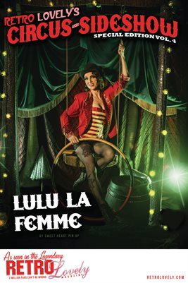 Circus & Sideshow 2021 Vol.4 – Lulu La Femme Cover Poster