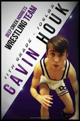 Gavin Houk DC #1 Poster