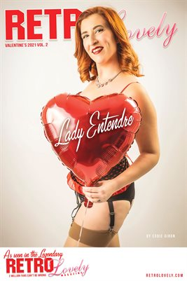 Lady Entendre Cover Poster