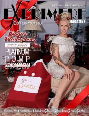 Exprimere Magazine Issue 018 Winter Wonderland ft Platinum Pomp