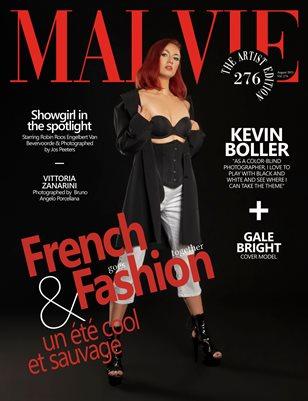 MALVIE Magazine The Artist Edition Vol 276 August 2021