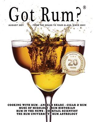 """""""Got Rum?"""" August 2021"""