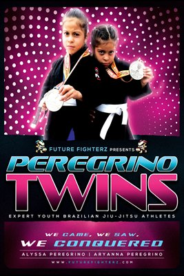Peregrino Twins Conquered Poster