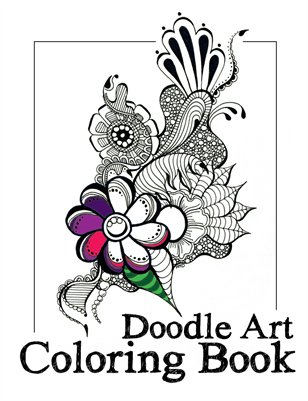 Doodle Art Coloring Book