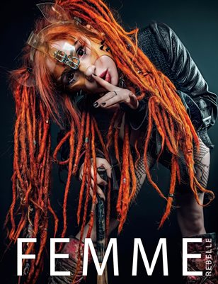 Femme Rebelle Magazine May 2019 BOOK 2 - Thomas Sprenger Cover
