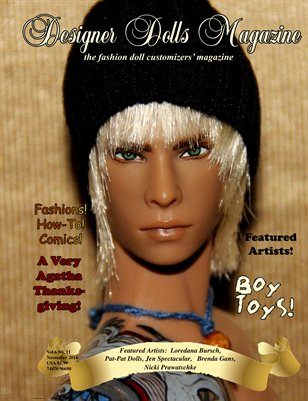 Designer Dolls Magazine - November 2014