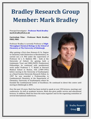 Bradley Research Group Member: Mark Bradley