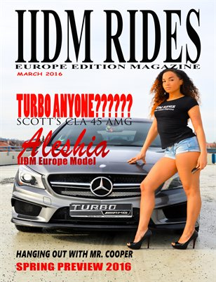 IIDM RIDES Europe Edition Magazine March 2016