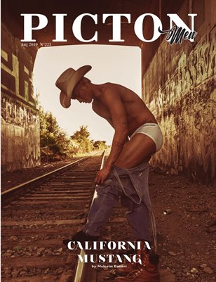 Picton Magazine AUGUST 2019 MEN N223 Cover 3