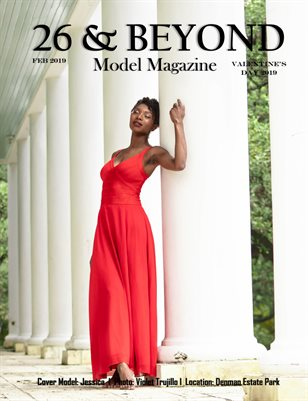 26 & BEYOND Model Magazine Valentine's Day 2019