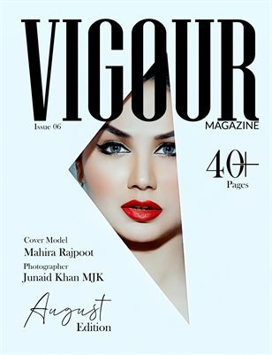 Vigour Magazine August Edition Issue 6