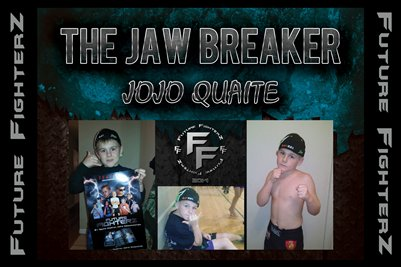 Jojo THE JAW BREAKER Quaite Poster