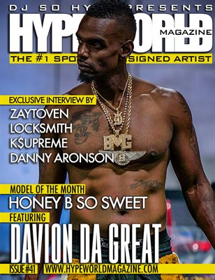 HYPE WORLD MAGAZINE ISSUE #41
