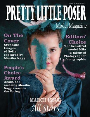Pretty Little Poser Model Magazine - Issue 29 - All Stars - March 2021