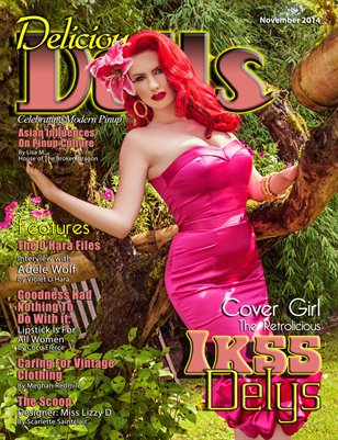 Delicious Dolls November 2014 Issue - Ikss Delys Cover