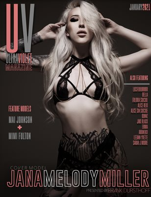 ULTRAVIOLET Magazine: January 2021 Cover One