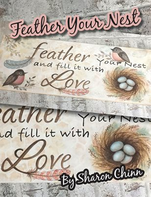 Feather Your Nest Painting Tutorial