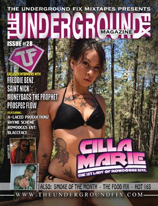 The Underground Fix Magazine Issue #28