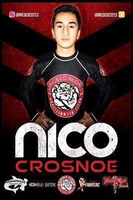 Nico Crosnoe Red Rum Poster