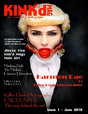 Kink'd Mag June 2019 Killer Heels Photography