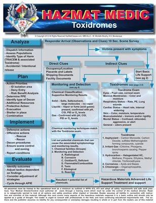HazMat Medic - Toxidromes
