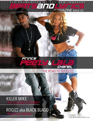 Beats And Lyrics Magazine Issue 20 (Prince Peezy & LaLa Chanel)