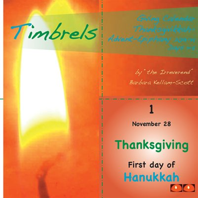 Timbrels Giving Calendar 1–5