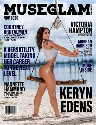 Muse Glam Magazine November 2020 KERYN EDENS