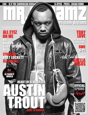 MR DREAMZ MAGAZINE SPRING 2013 AUSTIN TROUT