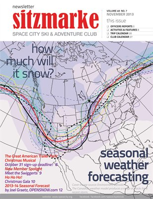 Sitzmarke Newsletter November 2013