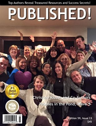 PUBLISHED! Excerpt featuring Christine Kloser interviews Pebbles in the Pond ~ Wave 5 CoAuthors