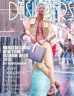 World Class Designers Magazine with House of Byfield