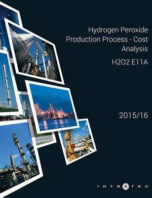 Hydrogen Peroxide Production Process - Cost Analysis - H2O2 E11A