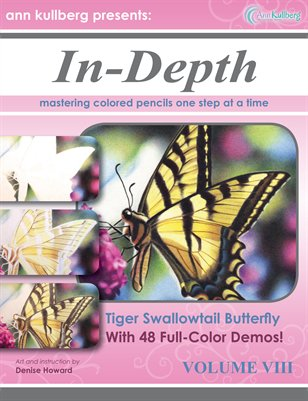 Colored Pencil At-Home Mini-Workshop: Tiger Swallowtail Butterfly