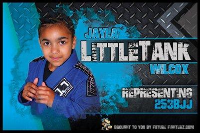 Jayla Wilcox Metal - Poster