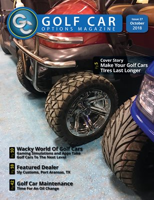 Golf Car Options Magazine - October 2018