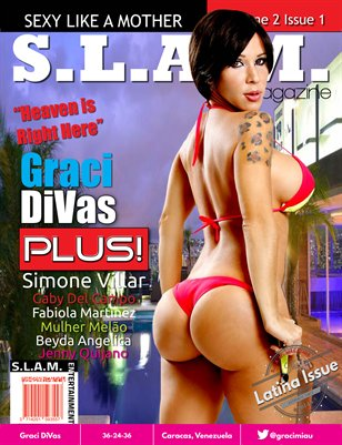 Vol 2 Issue 1 - Graci DiVas Cover