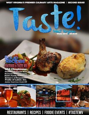 Taste! WV Magazine - Winter 2014