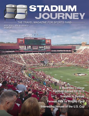 Stadium Journey Magazine, Vol 6 Issue 3